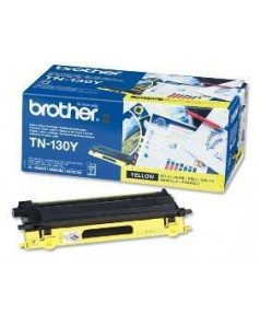 TN-130Y Желтый тонер-картридж Brother для  HL-4040/ 4050/ 4070/ DCP-9040/ 9045/ MFC-9440/ 9840 (1500 стр.)