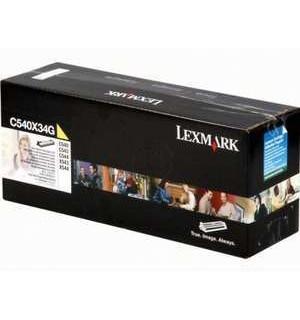 C540X34G Узел создания изображения Lexmark C540, C543, C544, X543, X544 желтый 30K