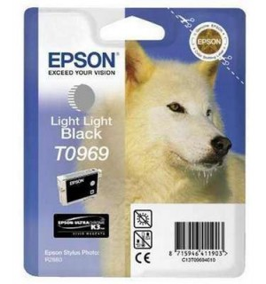 T0969 / T09694 Картридж EPSON Stylus Photo R2880 Light Light Black (Epson UltraChrome K3 Vivid Magenta)