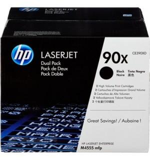 CE390XD HP 90X Картридж для LaserJet M4555 MFP (24000x2 стр.) Двойная упаковка.