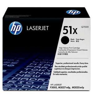 Уцененный картридж HP Q7551X/ Q7551XC № 51X