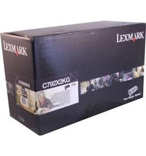 C792X2KG Принт-картридж Lexmark C792 Black Extra High Yield Print Cartridge (20K)