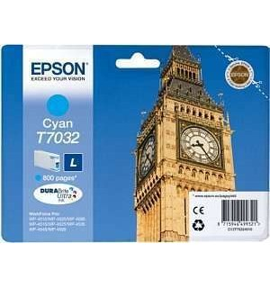 T7032 / T70324 Картридж для Epson WorkForce Pro WP 4015DN/4025DW/4515DN голубой (0,8K)