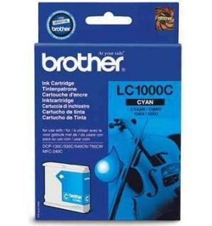 LC-1000C Картридж для Brother DCP130C/ 330С/ 540, MFC-240C/ 440CN/ 465CN/ 660CN/ 885CW/ 5460CN/ 5860CN (500 стр.) Cyan