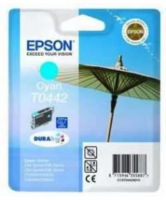 T0442 / T044240 Картридж для Epson Stylus C84/ C86, C64/ C66, CX3600/ 3650/ 6400/ 6600 (450стр.) Cyan