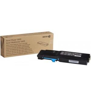 106R02233 Тонер-картридж для Xerox Phaser 6600/WC 6605, Cyan (6K)