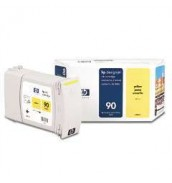 C5065A HP 90 Картридж желтый (Yellow) для HP Designjet 4000/4020/4500/4520, (400 ml)