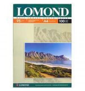 095 Бумага LOMOND A4 INC JET 95 г/ м2 100 л. матовая односторонняя [0102125]