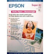 S041264 Бумага Epson Mate Paper-Heavyweight, A3+, 167 г/ м2 (50 л.)