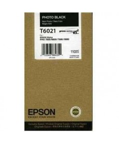 T6021 / T602100 Картридж для Epson Stylus Pro 7800/ 7880/ 9800/ 9880, Black (110 мл.)