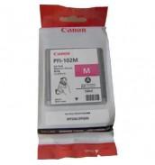 PFI-102M (Magenta) [0897B001] Картридж с чернилами для плоттера Canon IPF-500/600/610/650/655/700/710(картридж 130 мл)