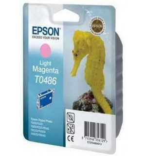 T0486 / T048640 Картридж Epson Stylus Photo LM R200/ R220/ R300/ R300ME/ R320/ R340, RX500/ RX600/ RX620/ RX640 Light Magenta (430 стр.)