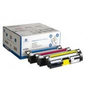 1710595-001 [A00W012] Комплект цветных картриджей для Konica-Minolta MagiColor 2400/ 2430/ 2450/ 248
