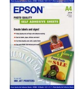 S041106 Самоклеящаяся бумага Epson INC JET, A4 (10