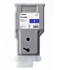 PFI-206B (Blue) [5311B001] Картридж с чернилами для плоттера Canon iPF6400/6450 (300 мл)