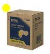 S050590 Тонер-картридж Epson AcuLaser C3900N Желтый (6 000стр.)