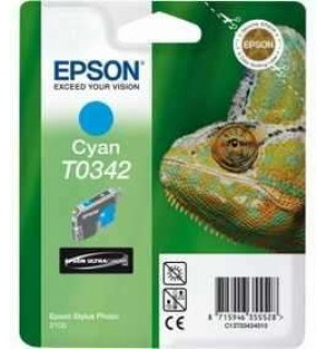 УЦЕНЕННЫЙ T034240 Картридж для Epson Stylus Photo 2100 Cyan (440стр.)