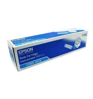 S050318 Тонер-Картридж Epson AcuLaser CX21N/CX21NF Cyan (5000стр.)