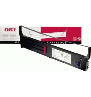 01171302/40629303 OKI Microline 4410, 15 млн. знаков, черный картридж (красящая лента)01171302