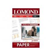 150 Бумага LOMOND A4 GLOSSY 250 л. 150 г/ м2 глянцевая односторонняя [0102133]