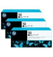 CR275A HP 761 Тройная упаковка черных ма...