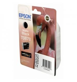 T0878 / T08784010 Картридж EPSON Stylus Photo  R1900 Matte Black (Ultra Chrome 2 Ink)