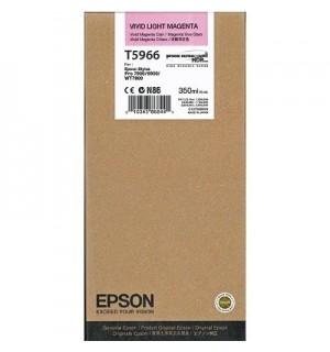 T5966 / T596600 Картридж для Epson Stylus Pro  SP 7890/ 7900 / 9900/ 9890, WT7900 Vivid Light Magenta  ( 350