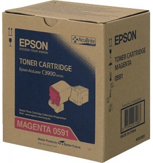 S050591 Тонер-картридж Epson AcuLaser C3900N Пурпурный (6 000стр.)