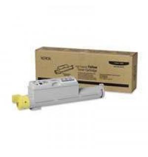 106R01220 Тонер-картридж повышенной емкости желтый для Phaser 6360 (12000 стр.)