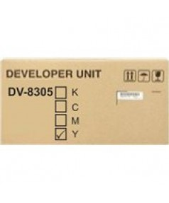 DV-8305Y [302LK93034]  Блок проявки желтый для Kyocera TASKalfa 3050/3051/3550/3551ci (600 000 стр.)