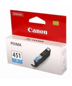 CLI-451C [6524B001] Картридж голубой. для PIXMA MG5440/MG5540/MG6340/MG6440/MG7140, iP7240, iP8740, MX924. 332 страниц.