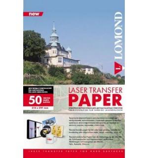 Термотрансферная универсальная лазерная бумага Lomond [0807335] для переноса изображения на твердую