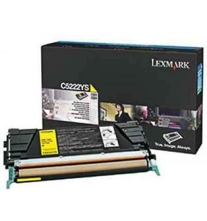 C5222YS Lexmark тонер картридж желтый для C522/ C524 /C530/ C532/ C534 (3000 стр.)