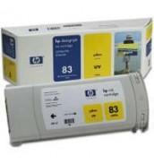C4943A HP 83 Картридж Yellow для плоттер...