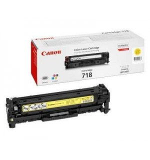Canon Cartridge 718Y [2659B002] Картридж для Canon LBP7200, MF8330/ 8350, DR-7550C/  9050 Yellow (2900с.)