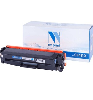 CF411X Картридж NV Print голубой, совместимый (5000стр.)
