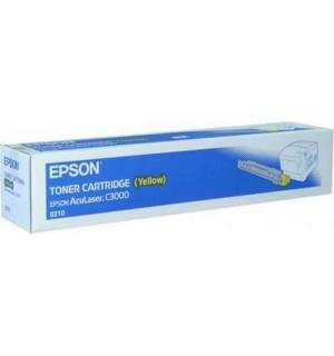 S050210 Тонер-картридж Epson AcuLaser C3000 Yellow (3500стр.)