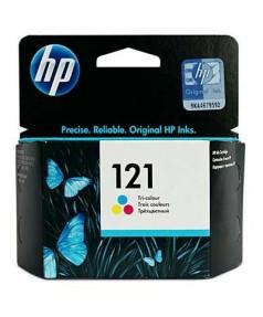 Уцененный оригинальный цветной принт-картридж CC643HE HP 121 для HP F2423, F2400 ,F4200, F4213, F4275, F4500...