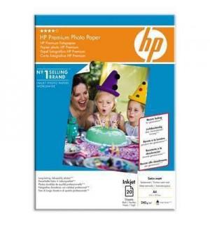 Q5433A HP Satin-Matt Premium Photo Paper, матовая атласная бумага, A4, 240 г./ м2, (20л)