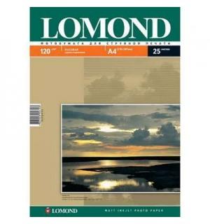 120 Бумага LOMOND A4 INC JET 120 г/ м2 25 л. матовая односторонняя [0102030]