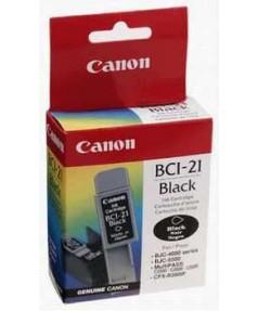 BCI-21BK [0954A002] Чернильница к Canon BJC 2000/ 2100/ 4000/ 4100/ 4200/ 4300/ 4400/ 4550/ 4650/ 5000/ 5100/ 5500, S100, FAX-B180C/ 210C/ 215C/ 230C,  MultiPASS C20/ C30/ C50/ C70/ C75/ C80 (black) (225 стр.) ориг