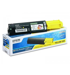 S050187 Тонер-картридж Epson AcuLaser C1100, CX11N/ CX11NF Yellow (4000стр.)