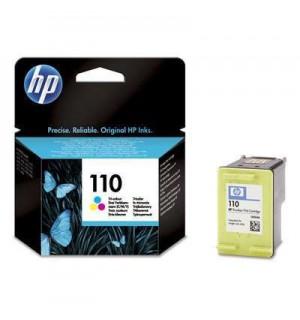 Уцененный трехцветный картридж HP CB304AE HP 110 для HP PhotoSmart