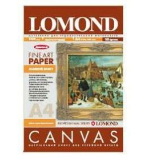 Бумага LOMOND NATURAL CANVAS PIGMEN ARCHIVE A3 холстовая для пигментных чернил 20 л. 320 г/ м2 [0908322]