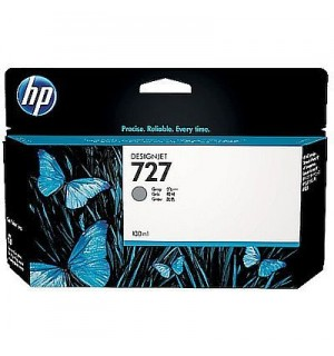 B3P24A Картридж HP 727 с серыми чернилами для принтеров HP Designjet T1500/ T2500/ T920 серии ePrinter, 130 мл