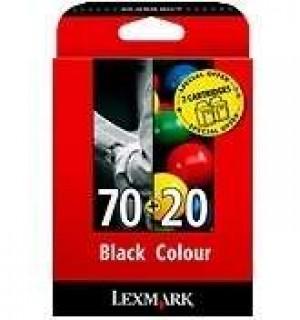 80D2953 Набор из двух картриджей Lexmark №70 и №20 для Lexmark Z11, Z31, Z42, Z43, Z45, Z45se, Z51,