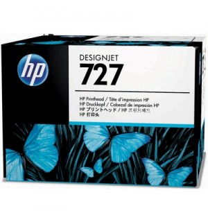 C1Q12A Картридж HP 727 с черными матовыми чернилами для принтеров HP Designjet T1500 / T2500/ T920 серии ePrinter, 300 мл