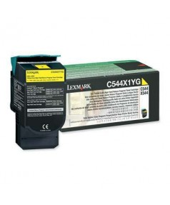C544X1YG Картридж для Lexmark C540, C543, C544, X543, X544 Yellow Extra High Yield Return Program 4K