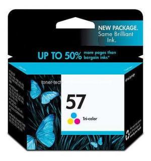 Уцененный трехцветный картридж HP C6657A для HP PhotoSmart