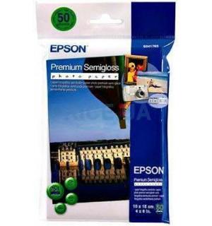 S041765 Бумага Epson Premium Semiglossy Photo Paper, высококачественная полуглянцевая фотобумага Eps